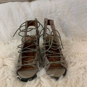 Free people and jeffry Campbell heels
